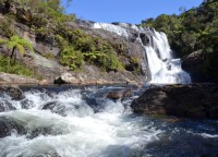 Sri Lanka Horton Plains waterfall1_Maivi